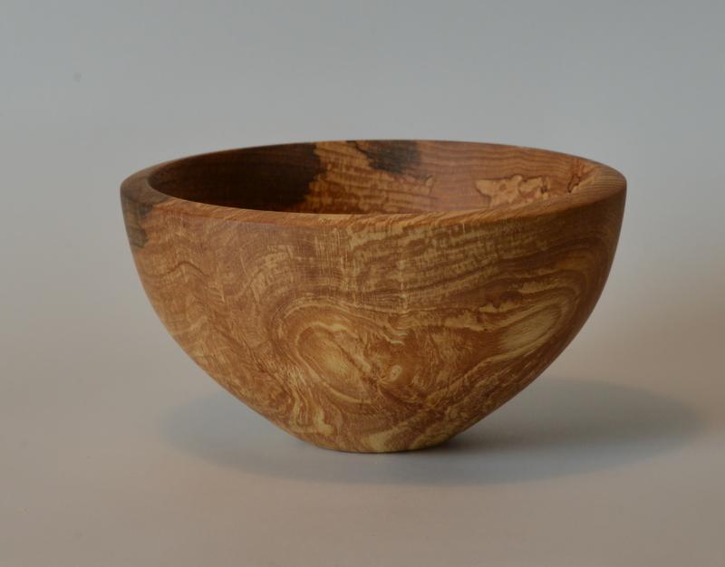 Image of figured beech bowl